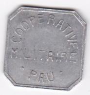 64. Pyrénées Atlantiques. Coopérative Militaire Pau. 25 Centimes , En Aluminium - Monétaires / De Nécessité