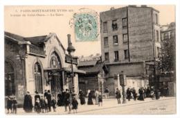 CPA 75 PARIS 18e Gare De L' Avenue De SAINT OUEN Gare De Petite Ceinture Montmartre 1905 Ed. CADOT PARIS N° 3 - Distretto: 18