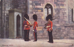 CPA - Illustrateur - RAPHAEL TUCK - Changing Guard - 6412 - Tuck, Raphael