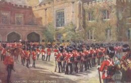 CPA - Illustrateur - RAPHAEL TUCK - Changing Guard At St James - 6412 - Tuck, Raphael