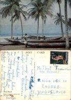 TEMA BEACH,GHANA POSTCARD - Ghana - Gold Coast