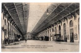 CPA 75 PARIS 8e Grève Des Chemins De Fer Gare Saint Lazare Salle Des Pas Perdus Ed. A Taride - Paris (08)