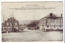 Cpa Revin  Place De La Gare - Revin