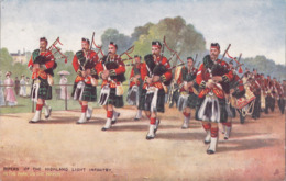 CPA - Illustrateur - RAPHAEL TUCK - Pipers Of The Highland Lightinfantry - 6412 - Tuck, Raphael