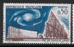 Yvert 1362 Maury 1362 - 50 C Radiotélescope De Nançay - O - Oblitérés