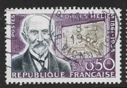 Yvert 1284 Maury 1284 - 50 C Méliès - O - Oblitérés