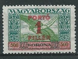 Hongrie -  Service  -   Yvert N °  104 (*)  -  AH 31914 - Dienstzegels