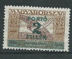 Hongrie -  Service  -   Yvert N °  105 (*)  -  AH 31915 - Dienstzegels