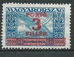 Hongrie -  Service  -   Yvert N °  106 (*)  -  AH 31916 - Dienstzegels