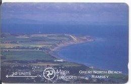 ISLE OF MAN - GREAT NORTH BEACH RAMSEY - 12.000EX - Regno Unito