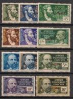 AEF - 1940 - N°Yv. 128 à 138 - Série Complète France Libre - Neuf Luxe ** / MNH / Postfrisch - A.E.F. (1936-1958)