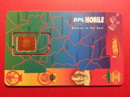 SIM GSM RARE SCHLUMBERGER INDIA DEMO BPL MOBILE INDE (BF1217 - India