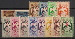 AEF - 1944 - N°Yv. 167 à 180 - Série Complète - RESISTANCE - Neuf ** / MNH / Postfrisch - Unused Stamps