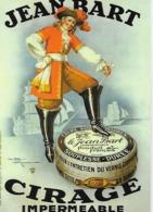 """CPM - Publicité -  JEAN BART - CIRAGE  Impermeable - """" Ilustrée Par L'artiste HENRI LEMONNIER"""". - Advertising"""