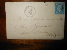 Enveloppe GC 4189 Vichy Allier - 1849-1876: Classic Period