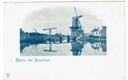 Motiv Bei Haarlem - Molen - 2 Scans - Haarlem