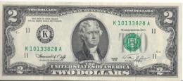 Stati Uniti/United States - 2 Dollars  1976 AXF - P.461 - Biljetten Van De  Federal Reserve (1928-...)