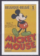 2008   80 Ste Verjaardag Van Mickey Mouse   Cat Nr 3784 - Belgique