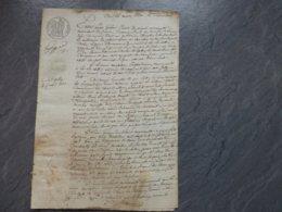 Châtelaillon 1830 Le Billon, Procès Comte De Saint-Marsault Vs Michelin, UNIQUE ; Ref 829 ; PAP09 - Documents Historiques