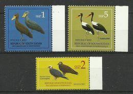 SOUTH  SUDAN  2012  BIRDS    MNH - Birds