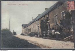 Carte Postale 59. Cartignies  Rue D'Etroeungt  Trés Beau Plan - France