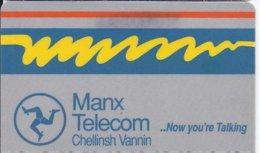 ISLE OF MAN - THE FIRST MANX TELECOM SMARTCARD - 1IOMEMA - Ver. Königreich