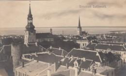 Tallinn Estonia, Reval View Of Port City On Baltic C1910s/20s Vintage Postcard - Estland