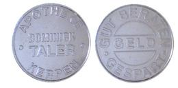 00577 GETTONE TOKEN JETON VENDING APOTHEKE DOMINICK TALLER KERPEN - Deutschland