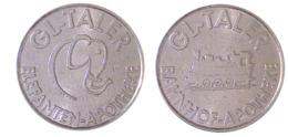 00583 GETTONE TOKEN JETON VENDING APOTHEKE GLTaler Elefanten Apotheke Bahnhof Apotheke - Deutschland
