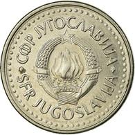Monnaie, Yougoslavie, 10 Dinara, 1985, TTB, Laiton, KM:131 - Joegoslavië