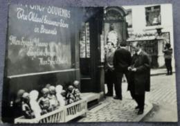 Brussels 1951 Gift Shop Manneken Pis Types De Publicités - Belgique