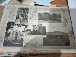 PIANCASTAGNAIO SIUENA  VEDUTE M AMIATA  SANTUARIO  CASTELLO  VB1953  HF1187 - Siena
