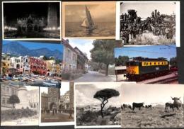 Lot 43 Cartes (Belgique France Cuba Danmark Train Paquebot Italie... - Postcards