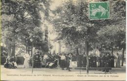 MONTLUCON Institution Supérieure De Melle PERARD Cours De Récréation, Vue De La Terrasse - Montlucon