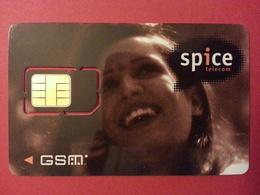 INDIA GSM SIM SPICE TELECOM SCHLUMBERGER PHASE VII KARNATAKA PUNJAB (BF1217 - India