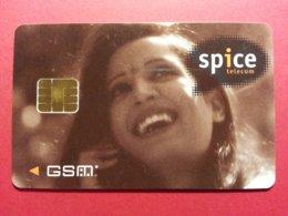 INDIA GSM SIM SPICE TELECOM SCHLUMBERGER PHASE VII KARNATAKA BANGALORE (BF1217 - India