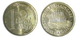 02230 GETTONE TOKEN JETON VENDING APOTHEKE 1 LAND MARK JUBILAUMSAUSGABE - Deutschland