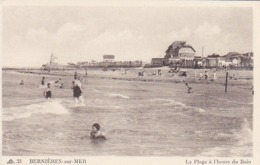 CPA Bernières-sur-Mer - La Plage à L'heure Bain  (44541) - Caen