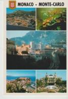 C. P. - MONACO - MONTE CARLO - MULTIVUES - 5 VUES - 597 - MOLIPORT - Monte-Carlo