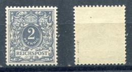 Deutsches Reich Michel-Nr. 52 Postfrisch - Geprüft - Ongebruikt