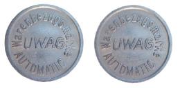 02620 GETTONE TOKEN JETON VENDING UWAG AUTOMATIC WARENBEZUGSMARKE - Deutschland