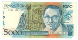 BRAZIL5000CRUZADOS1988P214UNCSeries 1261 - 214A.CV. - Brasile