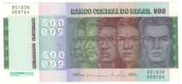 BRAZIL500CRUZEIROS1974P196UNCSeries 01636 - 196AB.CV. - Brasile