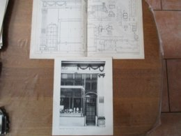 PARIS PERLES TECLA RUE DE LA PAIX CH. ADDA ARCHITECTE 33cm/25cm Et 50cm/33cm - Architectuur