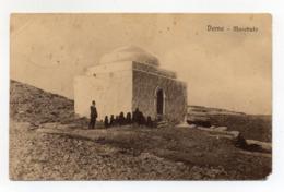 Cartolina Postale Coloniale - Cirenaica - Derna - Marabuto - Viaggiata Nel 1919 - (FDC17815) - Altre Guerre