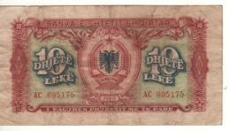 ALBANIA.  10 Leke  P24  1949. - Albania