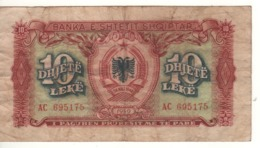 ALBANIA.  10 Leke  P24  1949. - Albanië