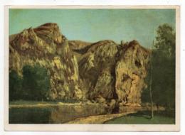 """Belgique -- FREYR -- D'après Tableau De Gustave Courbet --""""La Meuse à Freyr """" - België"""