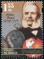 Poland 2009 Poles Throughout The World Antoni Patek Watchmaker MNH** - Ungebraucht