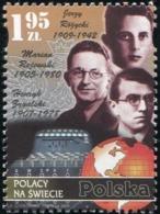 Poland 2009 Poles Throughout The World Ludwik Enigma MNH** - Ungebraucht
